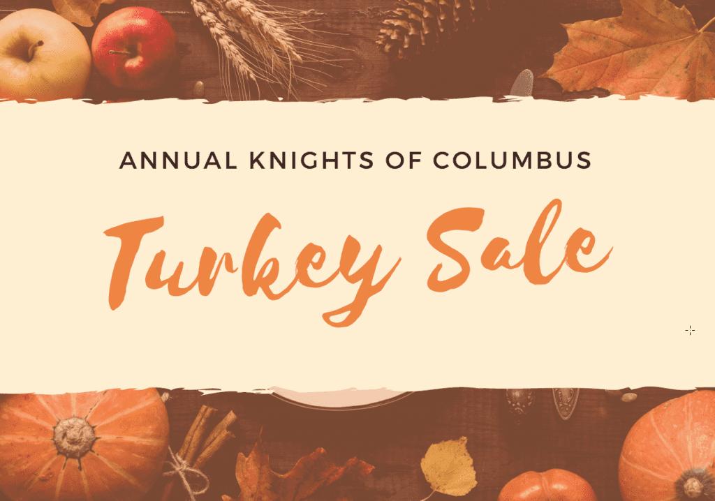 Annual KOC Turkey Sale